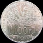 Photo numismatique  Monnaies Monnaies Françaises Cinquième république 100 francs Panthéon 100 francs Panthéon 1984, G.898 Quasi SUPERBE