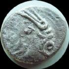 Photo numismatique  Monnaies Monnaies Gauloises Lingones, Lingons Denier, denar, denario, denarius LINGONES, LINGONS, denier KALETEDOY 1e si�cle avant Jc, cheval, 1,82 grms, LT 8291, TB � TTB