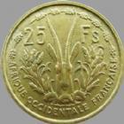 Photo numismatique  Monnaies Anciennes colonies Françaises Afrique Occidentale 25 Francs Afrique Occidentale Française, AOF, 25 francs 1956, LEC.18 TTB à SUPERBE