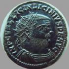 Photo numismatique  Monnaies Empire Romain LICINIUS I, LICINIO I,  Follis, folles,  LICINIUS I, follis Heraclea en 321-324, buste radié, Iovi Conservatori, 3,13 grms, RIC 52 R1! SUPERBE+