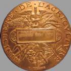 Photo numismatique  Monnaies Médailles Agriculture, Viticulture Médaille bronze Agriculture, Ministère, Vesoul 1897, médaille en bronze de 50 mm, signé Ponscarme, TTB à SUPERBE