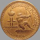 Photo numismatique  Monnaies Monnaies étrangères Monaco 2 Francs MONACO, 2 francs 1924, Louis II, G.129 TTB