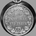 Photo numismatique  Monnaies Allemagne après 1871 Allemagne, Deutschland, Wuerttemberg, Wurttemberg Médaille avec belière Allemagne, Deutschland, Wuerttemberg, Wurttemberg, médaille en argent de 28 mm avec beliere, 1891, Fur Tapferkeit und Treue, SUPERBE