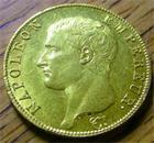 Photo numismatique  Monnaies Monnaies Françaises 1er Empire 40 Francs NAPOLEON Ier 40 Francs AN 13 A Paris G.1081 belle monnaie!