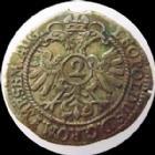 Photo numismatique  Monnaies Allemagne avant 1871 Allemagne, Deutschland, Nurnberg, Nuremberg 2 Kreuzers Nuremberg, Nurnberg, Leopold I, 2 kreuzers (1694), 0,89 grm, KM.221 TTB+