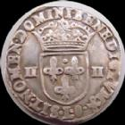 Photo numismatique  Monnaies Monnaies Royales Henri IV quart d'Ecu HENRI IV, 1/4 d'Ecu 1607 L Bayonne, étoile dans le C de France, olive en fin de légende de Rv, 9,62 grms, DY.1224 TTB+