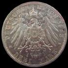 Photo numismatique  Monnaies Allemagne après 1871 Allemagne, Deutschland, Bayern, Baviere 3 Mark, Drei mark Allemagne, Deutschland, Bayern, Bavière, Otto, 3 mark 1912 D, J.47 TTB/SUPERBE