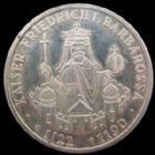 Photo numismatique  Monnaies Allemagne après 1871 Allemagne, Deutschland, Germany, BRD 10 Mark Allemagne, Deutschland, BRD, 10 mark 1990 F, Friedrich Barbarossa, J.449 SUPERBE