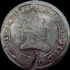 Photo numismatique  Monnaies Monnaies Royales Henri III Franc au col plat HENRI III, Franc au col plat 1578 S Troyes, 13,82 grms, DY.1130 presque TTB/TTB