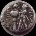 Photo numismatique  Monnaies Monnaies grecques Bithynie, Heracleia Pontike Drachma, drachme Bithynie, Heracleia Pontike, Dionysos Tyran, drachme 337-305 avant Jc,2,16 grms, HGC 7.501 TB+