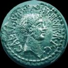 Photo numismatique  Monnaies République Romaine Marcus Antonius, Octavianus, Octavian, Marc Antoine et octave Denier, denar, denario, denarius MARC ANTOINE et OCTAVE, MARCUS ANTONIUS, OCTAVIAN, denier Rome en 41 avant Jc, 3,20 grms, SYD.1181, ebrêchée et lustrée, TTB/TB+