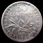 Photo numismatique  Monnaies Monnaies Françaises Troisième République 50 Centimes 50 centimes Semeuse de Roty 1897, G.420 SUPERBE année Rare et très difficile a trouver!