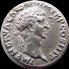 Photo numismatique  Monnaies Empire Romain NERVA Denier, denar, denario, denarius NERVA, Denier Rome en 96, Aequitas Avg, 2,65 grms, RIC 1 Porosit� sinon TTB
