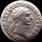 Photo numismatique  Monnaies Empire Romain TRAJAN, TRAJANUS, TRAIAN, TRAIANO Denier, denar, denario, denarius TRAJAN, TRAJANUS, denier Rome en 98-99, Pont Max Tr Pot Cos l'Abondance, 3,10 grms, RIC 11 TTB/TB+