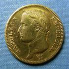 Photo numismatique  Monnaies Monnaies Françaises 1er Empire 40 Francs or NAPOLEON Ier, 40 Francs or, 1812 A, Gadoury 1084 TTB