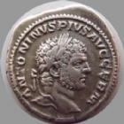 Photo numismatique  Monnaies Empire Romain CARACALLA Denier, denar, denario, denarius CARACALLA, denier Rome en 214, PM TR P XVII COS IIII PP, 3,30 grms, RIC 246 TTB
