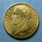 Photo numismatique  Monnaies Monnaies Française en or 1er Empire 20 Francs or NAPOLEON Ier, 20 Francs or 1810 A, Gadoury 1025 TTB+