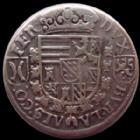 Photo numismatique  Monnaies Monnaies/medailles d'Alsace Ensisheim 1/4 de Taler, quart de Taler, viertel Taler ENSISHEIM, Ferdinand, 1/4 de taler (viertel taler) non daté, 1564-1595, 6,70 grms, Klemesch 242 TTB