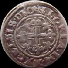 Photo numismatique  Monnaies Monnaies/medailles d'Alsace Strasbourg Halbgroschen STRASBOURG, 15/16e siècle, Halbgroschen semissis, 1,80 grms, EL.362 Var. TTB