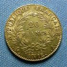 Photo numismatique  Monnaies Monnaies Françaises Consulat 20 Francs or CONSULAT, BONAPARTE PREMIER CONSUL, 20 Francs or AN 12 A, Gadoury 1020 TTB