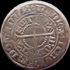 Photo numismatique  Monnaies Monnaies/médailles de Lorraine René Ier Gros RENE I, 1419-1480, Gros, marquisat de Pont a Mousson, Duché de Bar, 2,31 grms, Flon 1 TB à TTB