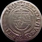 Photo numismatique  Monnaies Monnaies/médailles de Lorraine René Ier Gros RENE I, 1431-1453, Gros, nancy, 2,10 grms, Flon 9 pincement sinon TTB