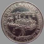 Photo numismatique  Monnaies Allemagne après 1871 Allemagne, Deutschland, Germany, Mainau Wertmarke Mainau, wertmarke, 32 mm, Gartnern um des menschen willen, TTB à SUPERBE