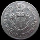 Photo numismatique  Monnaies Monnaies de nécéssité Marseille 5 Centimes MARSEILLE, chambre de commerce, 5 centimes aluminium 1916, 24,9 mm, E.10.1A TTB+