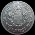 Photo numismatique  Monnaies Monnaies de nécéssité Marseille 10 Centimes MARSEILLE, chambre de commerce, 10 centimes aluminium 1916, 28,2 mm, E.10.2A SUPERBE