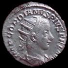 Photo numismatique  Monnaies Empire Romain GORDIEN III, GORDIAN III, GORDIANUS III, GORDIANO III Antoninien, antoninianus, antoniniane GORDIEN III d'Afrique, GORDIANUS III Africanus, antoninien Rome en 240-243, Virtuti Augusti, 3,41 grms, RIC 95 TTB à SUPERBE