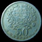 Photo numismatique  Monnaies Monnaies étrangères Portugal 50 Centavos Portugal, 50 centavos 1928, KM.577 TTB
