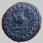 Photo numismatique  Monnaies Colonies Romaines Moesie inferieur, Moesia  AE, AES, Bronze DIADUMENIEN, DIADUMENIANUS, Moesie inferieure, Nikopolis en 217-218, ae 17 mm, 3,04 grms, AMNG I-1886 var. TTB/TB+