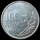 Photo numismatique  Monnaies Monnaies Françaises 4ème république 100 Francs 100 Francs Cochet 1956, G.897 Presque SUPERBE