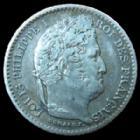 Photo numismatique  Monnaies Monnaies Françaises Louis Philippe 25 Centimes LOUIS PHILIPPE, 25 centimes 1846 A Paris, G.357 TTB à SUPERBE