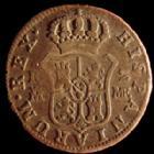 Photo numismatique  Monnaies Monnaies étrangères Espagne, Spain 2 Réales Espagne, Spain, Carlos IV, 2 réales 1799, Caligo/Trigo 845, B à TB / TB+