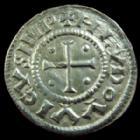 Photo numismatique  Monnaies Monnaies Carolingienne Louis le Pieux Denier au temple, légende chrétienne LOUIS Le Pieux Empereur, 814-840, denier, Temple, 21,5 mm, 1,69 grms, G.36/MEC.802 SUPERBE