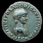 Photo numismatique  Monnaies Empire Romain NERON, NERO Denier, denar, denario, denarius NERON César, NERO Caesar, denier Rome en 51, equester Ordo Principi Ivvent, 3,58 grms, RIC 79 TTB+ Jolie monnaie avec la légende complète!!