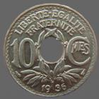 Photo numismatique  Monnaies Monnaies Françaises Troisième République 10 centimes Lindauer 10 centimes Lindauer 1936, G.286 SUPERBE+