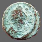 Photo numismatique  Monnaies Monnaies Byzantines Justinianus I, Justinien I er Ae 6 Nummi Justinien I, Justinianus I, Ae 6 nummi, Alexandrie (Alexandria) en 527-565, Grand S, 14 mm, 2,73 grms, MIB.166 B à TB