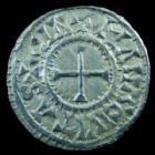 Photo numismatique  Monnaies Monnaies Carolingienne Charles II le Chauve Denier du Mans Charles II le Chauve, 840-877, denier du Mans, CIRATIA D-I REX / CINOMANIS CIVITAS, 1,52 grms, Dep.559 SUPERBE