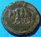 Photo numismatique  Monnaies Empire Romain DOMITIEN, DOMITIANUS, DOMITIAN, DOMITIANO Quadrans DOMITIEN 81.96 AP.JC Quadrans C.674 TTB