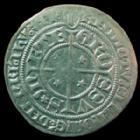 Photo numismatique  Monnaies Monnaies/médailles de Lorraine Metz Gros au St Etienne agenouillé METZ, gros au St Etienne agenouillé, début 15e fin 16e siècle, 2,79 grms, Flon 2 à 10 P.512 TTB+
