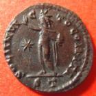 Photo numismatique  Monnaies Empire Romain CONSTANTIN I, CONSTANTINUS I, CONSTANTINO Follis, folles,  CONSTANTIN I, CONSTANTINUS I, follis Ticinium en 313-314, Soli Invicto Comiti, 3,00 grms, RIC 8 TTB+/SUPERBE