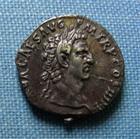 Photo numismatique  Monnaies Empire Romain 1er siècle NERVA Denier, denar, denario, denarius NERVA, Denier frappé à Rome en 97, portrait de très beau style!! Cohen 79 Superbe