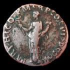 Photo numismatique  Monnaies Empire Romain TRAJAN, TRAJANUS, TRAIAN, TRAIANO Denier, denar, denario, denarius TRAJAN, TRAJANUS, denier Rome en 116-117, Felicitas, Parthico, 3,37 grms, RIC 332 TB à TTB