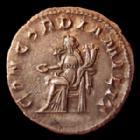 Photo numismatique  Monnaies Empire Romain GORDIEN III, GORDIAN III, GORDIANUS III, GORDIANO III Antoninien, antoninianus, antoniniane GORDIEN III d'Afrique, GORDIANUS III Africanus, antoninien Rome en 240, Concordia Milit, 4,40 grms, RIC 65 TTB+