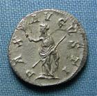 Photo numismatique  Monnaies Empire Romain MAXIMIN I, MAXIMINUS I, MAXIMINO I Denier, denar, denario, denarius MAXIMIN Ier THRAX, (Maximinus) Denier frappé à Rome en 235.236, Pax, RIC 12 TTB