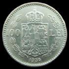 Photo numismatique  Monnaies Monnaies étrangères Romania, Roumanie 100 Lei Roumanie, Romania, 100 Lei 1936, KM.54 SUPERBE