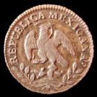 Photo numismatique  Monnaies Monnaies étrangères Mexique, Mexico, Mexican 1/2 Réal Mexique, Mexico, 1/2 Réal 1858, KM.370.9 TTB+