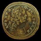 Photo numismatique  Monnaies Jetons Rechenpfennig Louis XV Rechenpfennig, Louis XV, Gluck und kunst, 19,5 mm, TB à TTB